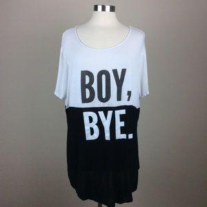 Krush Boy, Bye Graphic tunic